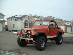 jeep scrambler lifted 1982 cj 8s