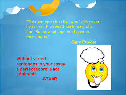 sentence structure vary to keep the reader merry ppt