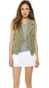 madewell modern safari vest shopbop