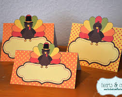 thanksgiving place cards etsy