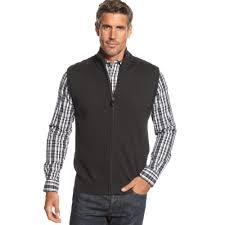 mens sweater vests macy s mens sweater vest gray cardigan sweater