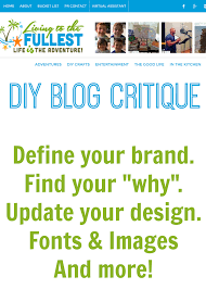 how to conduct a diy blog critique yes critique your blog