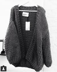 oversized chunky knit sweater a style statement wearing a chunky knit cardigan