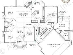 decor ranch house plans with walkout basement sq ft home design