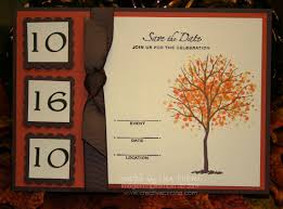 fall autumn wedding save the date card or invitation creative cucina