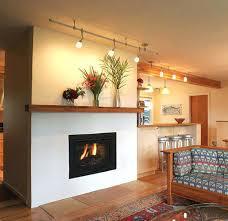 fireplace mantel lighting ideas best images on track minimalist