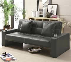 black leather sofa bed decor sectional uk 4872 gallery