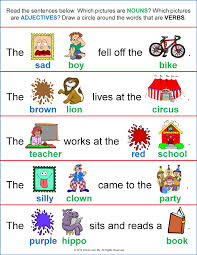 parts of speech lessons tes teach