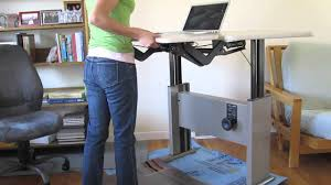 Motorized Adjustable Height Desk by Knoll Adjustable Corner Desk Youtube