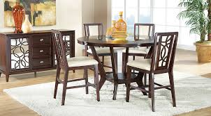 Cindy Crawford Home Highland Park Ebony  Pc Counter Height Dining - High dining room sets