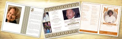 Memorial Programs Funeral Memorial Programs Cherished Keepsakes Funeral Programs