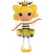 Lalaloopsy Halloween Costumes Lalaloopsy Royal Honey Stripes Doll Walmart