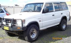 1998 mitsubishi pajero gl lwb 4x4 nl 4d wagon for sale in west