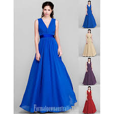 chagne bridesmaid dresses floor length chiffon bridesmaid dress royal blue ruby