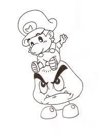 baby mario coloring pages to print coloring page