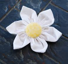 Fabric Flowers Fabric Flower Hair Clip
