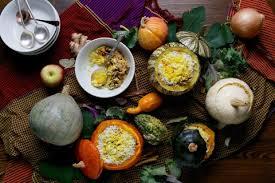 the stuffed pumpkin dish that will make vegetarians and everyone