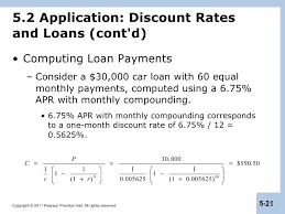 how to calculate monthly loan payments berk chapter 5 interest rates