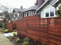 horizontal fence types home u0026 gardens geek