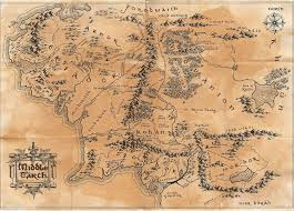 a map of middle earth map of middleearth major tourist attractions maps