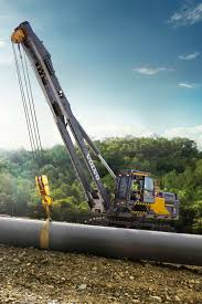 volvo pl4809e tier 4 final rotating pipelayer pushes performance
