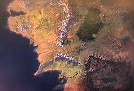 Map Of Mordor Middle Earth Map By Fkcogus333 On Deviantart