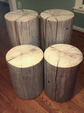Tree Stump Nightstand Stump Table Ebay