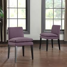 purple dining chairs skyline furniture denise tufted arched