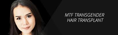 bandage hair shaped pattern baldness mtf transgender hair transplant dallas transexual hair grafting
