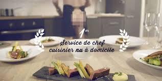 chef de cuisine à domicile cuisinier très particulier un chef cuisinier nu à domicile les