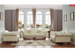 White Leather Living Room Set Leather Sofas Loveseats And Chairs For Every Budget