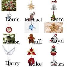 1d 5sos your personal ornaments on your tree polyvore