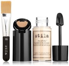 amazon com stila stay all day foundation concealer u0026 brush kit
