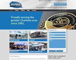 Alpha Canopies by Alpha Canvas Websites Oculus Websites Greenville Sc