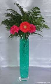 Water Bead Centerpieces by Water Beads And Silk Flowers Vases You Love Pinterest Water