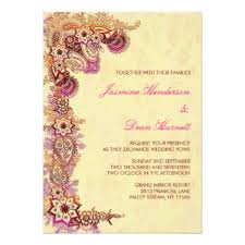 henna invitation mehndi invitations announcements zazzle au