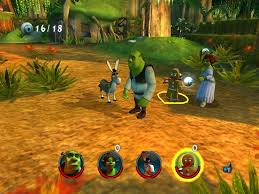 shrek u0027s swamp shrek 2 walkthrough wiki guide gamewise