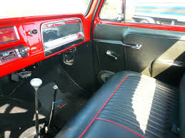 Chevrolet C10 Interior 1966 Chevrolet C10 Long Bed Pick Up