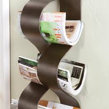 furniture magazine holder wall floor rack shelf mounted racks