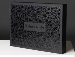 wedding album box black wedding album box with luxurious decor made wedding