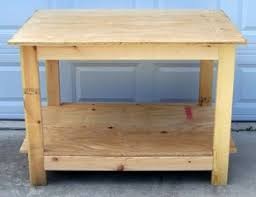 Woodworking Plans For Free Workbench by These Garage Workbench Plans Are Built With The Kreg Jig