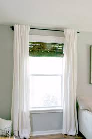 Expensive Curtain Rods Galvanized Pipe Curtain Rod Little Red Brick House