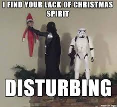 Funny Memes About Christmas - star wars christmas crazy as a bag of hammers humor funny lol