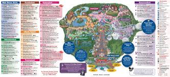 magic kingdom disney map fantasyland on the magic kingdom guide map photo 1 of 2