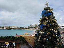 file maho beach with christmas tree 6543935627 jpg wikimedia