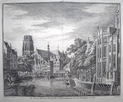 holland rotterdam u0027de groote kerk en korenbeurs te rotterdam