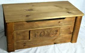 Rustic Pine Desk Handcrafted Wooden Rustic Pine Trunk Chest Toy Box Shabby Chic