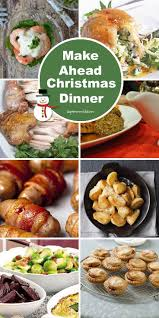 christmas menu ideas make ahead christmas dinner fill your freezer with festive food