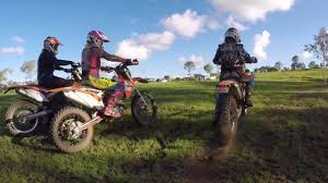 pink motocross bike girls dirt bike ride fnq 2017 youtube