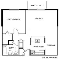 Bedroom Floor Plan With Measurements Chic One Apartment Floor Plans With Small Interior Equipped With
